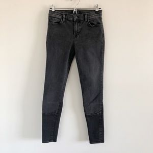 J Brand Stretch Skinny Jeans in Graphite 28